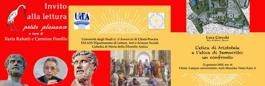Luca Grecchi-Aristotele-Democrito
