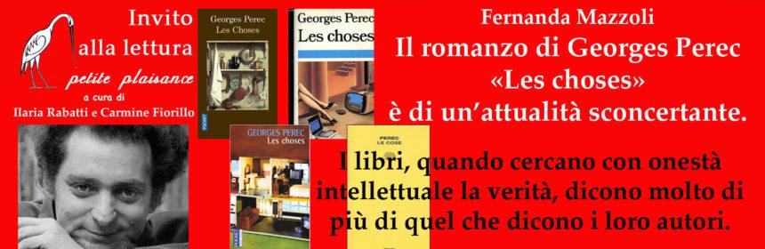 Georges Perec, Les choses
