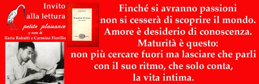 Cesare Pavese maturità