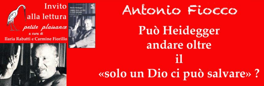 Martin Heidegger- Antonio Fiocco