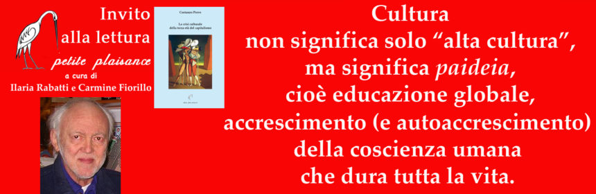 Costanzo Preve - cultura paideia