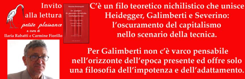 Umberto Galimberti - Massimo Bontempelli