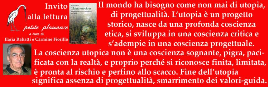 Cosimo Quarta - Utopia - Progettualità