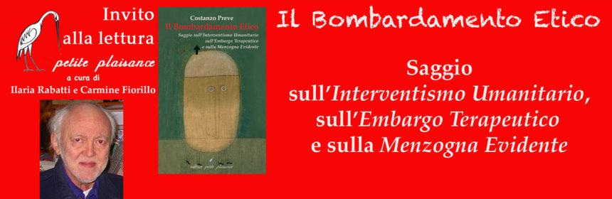 Costanzo Preve - Il bombardamento etico