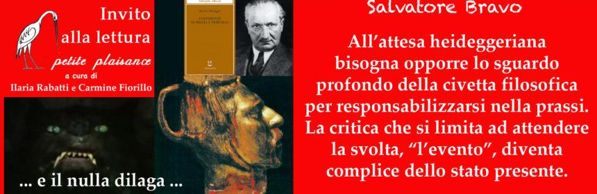 La brocca di Heidegger
