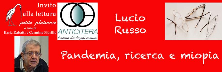 Lucio Russo - Pandemia