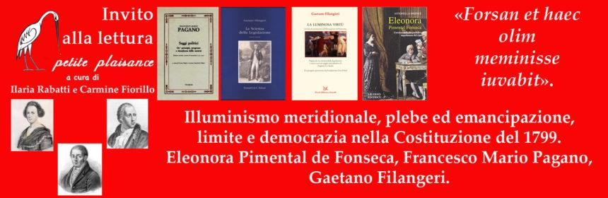 Eleonora de Fonseca Pimental - Francesco Mario Pagano-Gaetano Filangeri