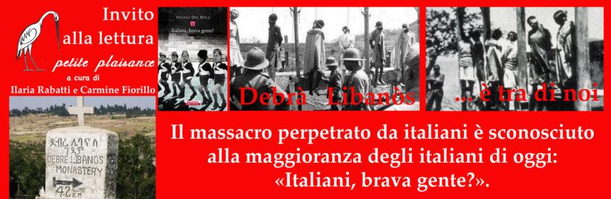 Angelo Del Boca, Italiani brava gente? Debra Libanos